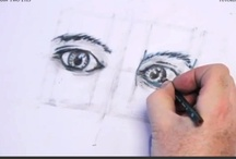 How to Draw Two Eyes / Free online tutorial on how to draw two eyes. Very useful for the 2d design, 3d animation, game design and fashion design students.