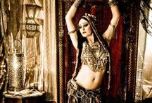 tribal fusion bellydance / dancers, moves, outfits