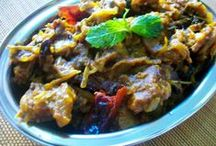 Non-vegetarian side dishes / Delicious non-veg curries and side dishes...