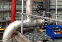 Pipe welding contractors / At Aardvark Engineering Pipe work welding, food grade welding; maintenance shutdowns form our core business.