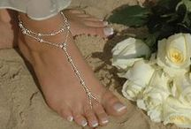Foot Toe Anklet / Fashion never end because choice always change with Foot toe anklet.