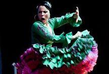Colour Coordinates / Great colour inspirations in Flamenco fashion