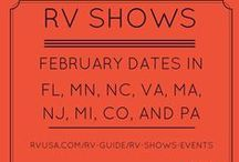 RV Shows / Check out our list of RV shows and events! Learn more about the RV lifestyle and view beautiful RVs for sale.