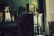Déco / Dark, goth, black home decoration...