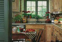 Casas - viver na cozinha