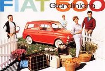vintage FIAT posters / Vintage FIAT posters en advertenties / by a girl around the globe