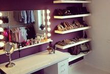 Closets and Make Up Stations / Want