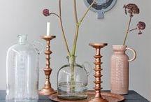 Koper • Morres / Koper is hot. We zien het overal. Koper is warm, stijlvol en geeft een eigentijdse sfeer aan je huis.