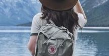What to wear while travelling #TRAVEL #FASHION / What to wear while travelling. Travel in style.