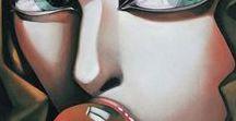 Ira Tsantekidou (b.1967) / 20th-21th century Art - Art Déco movement - Greek Artist