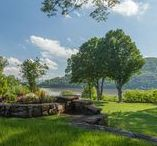 Mansion and Grounds / Scenic | Hudson Valley | Tourism | Travel | Cortlandt Manor | Westchester | New York | Romantic | Hudson River | Monteverde at Oldstone