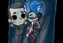 superheros and the occasional villain / by stephanie mey