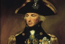 Historical ~ Lord Admiral Horatio Nelson / by R J
