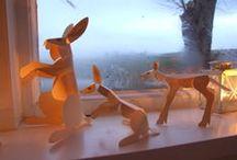 KNOW: Påske, Easter - Spring celebration, hares & hens