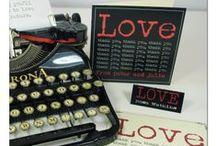 Valentine Designs / Gift wrap and stationery valentine's designs