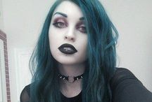 Dark Gothic Make-up
