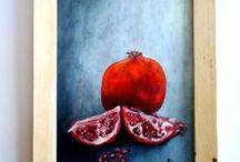 Kendi Yağlı Boya Çalışmalarım / yağlı boya çalışmalarım|oil painting by me