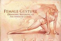 Female Anatomy Study & Pose / Anatomy Reference Female, Models And Poses