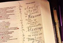 Bible art, quotes & journaling