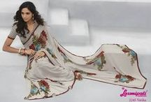 Barista / Designer Printed Sarees