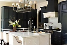 Kitchen Dreams / Black and White with bright accent colors / by Kiesha Mathews