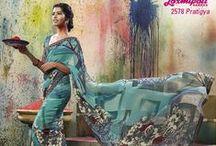 VRINDAVAN / Designer Printed Sarees...