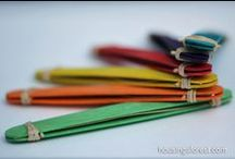 ✪ DIY ✪ Bâtons de popsicle ✪ Popsicle sticks