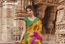 KRISHNA KALI / Designer Printed Sarees