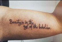 Little Tattoos | Quotes / Little tattoos of quotes. / by Little Tattoos
