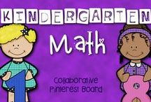 * Kindergarten Math * / This is a collaborative board to share crafts, ideas, and resources focused on Kindergarten Common Core Math. Feel free to post up to 2 items for sale per day when pinning a 1:1 ratio of sale to free resources to encourage unique content.  Otherwise please pin one paid item per day. Thank you for your contributions making our board the best Kindergarten Math destination on Pinterest!  To join this board please visit my blog at kindergartenboomboom.blogspot.com for instructions.
