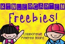 * Kindergarten Freebies * / This is a collaborative board to share FREE Kindergarten Products & Resources. Please keep total pins to a limit of 3 per day to encourage unique content. Thank you for your contributions making our board the best Kindergarten Freebies destination on Pinterest! To join this board please visit me at kindergartenboomboom.blogspot.com for instructions.