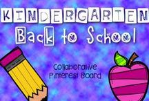 * Kindergarten Back to School / This is a collaborative board for back to school ideas and products including classroom organization. Feel free to post up to 2 items for sale per day when pinning a 1:1 ratio of sale to free resources to encourage unique content. Otherwise please pin one paid item per day. Thank you for your contributions making our board the best on Pinterest! To join this board, please visit me at happylittlekindergarten@blogspot.com