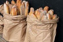 Выпечка. Baguette, bread