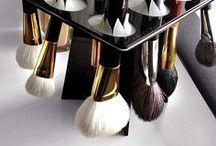 Makeup. Brushes
