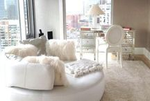 Beautiful Interiors / Luxurious spaces, comfort, home trends