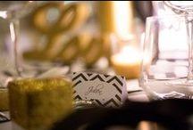 [RÉALISATIONS] Mariage Black and Glitter - Chevrons / Design et Papeterie : Dessine-moi une étoile et Un Lys dans l'atelier Organisation et Coordination : MC2 Mon Amour Lieu de réception : Domaine de Brunel Photographies : Keith Photographie - Dessine-moi une étoile