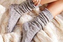 Women's Socks / Women's socks of various types and colors.