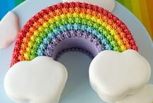 Rainbow Birthday Party Inspiration / Inspiration for David's Rainbow Themed 2nd Birthday party.