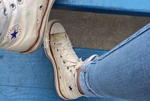 all star  ➳ converse ♡  jeans ♕