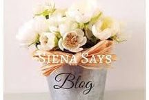 Siena Says Blog / I started my millionth blog recently over at sienasays.com  On first impressions you might think it's another mummy blog, but the fact is I wanted it to be more like the kind of magazine I would like to read. Yep I'm a mum in my 40s, but I'm also a wife, a writer, a homeworker, a fashion addict, a baker, an observer of life, a linguist....