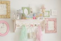Cute Girl's Bedroom / Decorating your little girl's room or nursery can be a lot of fun. You'll need ideas on bedding, decor, curtains won't you? Plus a whole load of gorgeous girly accessories.