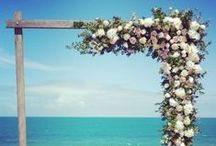 The Wedding Arch by Ceremonies I Do / Wedding arch, wedding back drops and wedding abours. Custom made and Perfect for any wedding ceremony. Timber Arch, Birch backdrops