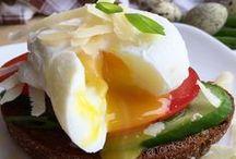 Рецепты. Завтраки - яйца