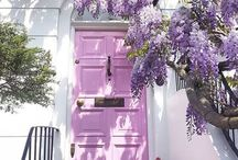 Doors / A great front door can really be the finishing touch to a beautiful home. I love collecting doors, one day I'll have a stylish one myself!