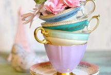 Pretty China / Pretty teacups, tea-pots, plates any anything else that catches my eye. Shabby chic, vintage and floral with a bit of modern thrown in, all the prettiest china, porcelain and crockery.