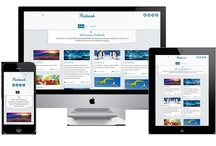 Pinbook / Pinbook is resposive joomla template based on pinterest and designed for mobiles, tablets and desktops.