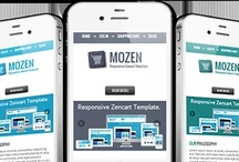Mozen / Mozen is responsive zencart template packaged with responsive theme.