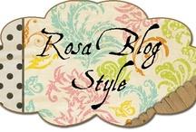 Mi Blog: Rosa Blog Style / Imagenes de mi blog Rosa Blog Styles, manualidades a ganchillo y punto