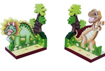 Jurassic Room / At Childrens Funky Furniture, we offer some lovely bedroom accessories for kids. This Dinosaur Collection is currently on sale!