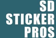 SD Sticker Pros / SD Sticker Pro   Stickers, Decals, and Print Professionals   San Diego Sticker Pros   http://www.sdstickerpros.com/